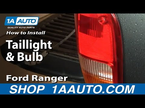 How To Install Replace Taillight and Bulb 93-97 Ford Ranger 1AAuto.com