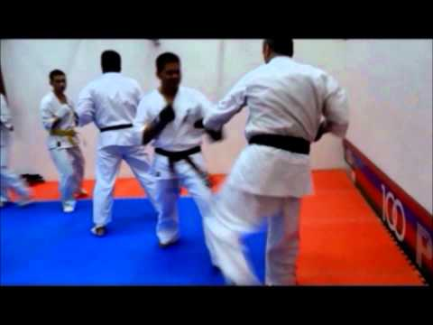 Kyokushin Karate Singapore (by West Dojo) - Training Video in June 2012.wmv Image 1