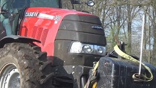Case IH Puma 130 and Vogel & Noot