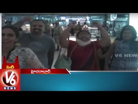 Passengers Fire On Indigo Airlines | 4 Robbers Arrest | Lawyers Protest | Hyderabad City Roundup
