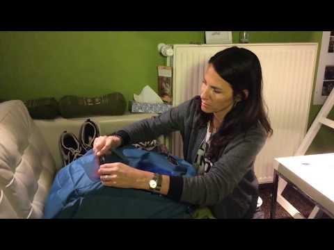 Backpacking mit Handgepäck Rucksack Osprey Farpoint 40, passt alles von der Packliste hinein?