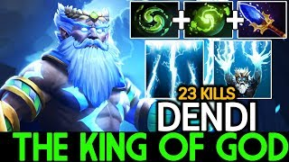 Dendi [Zeus] The King of God 23 Kills Cancer Game 7.21 Dota 2