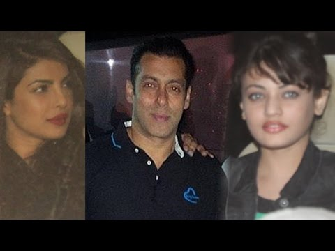 Stars Come Down For Salman Khan's Midnight Birthday Party