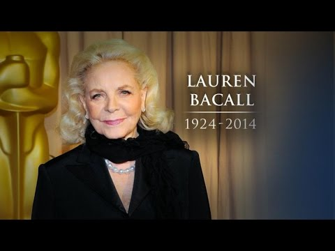 Lauren Bacall Dead At 89 video