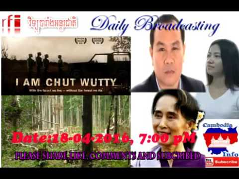 Radio France International RFI in Khmer today, summary the main news today 2016 04 18 at 7
