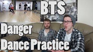 BTS - Danger dance practice Reaction
