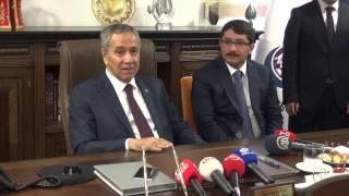 Başbakan Yardımcısı Arınç'tan Başkan Çelik'e övgü