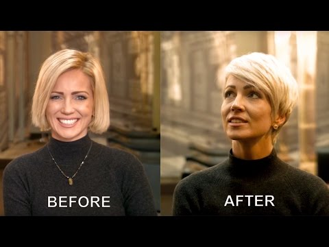 How to style pixie haircut