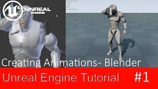 Unreal Engine 4 - Create own animation - Blender - Follower wish #1