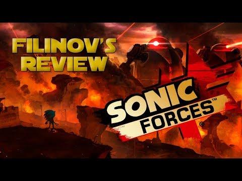 Обзор игры Sonic Forces - Filinov's Review
