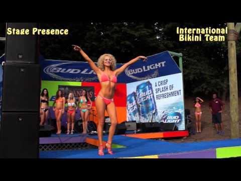 Bikini Contest Stage Presence