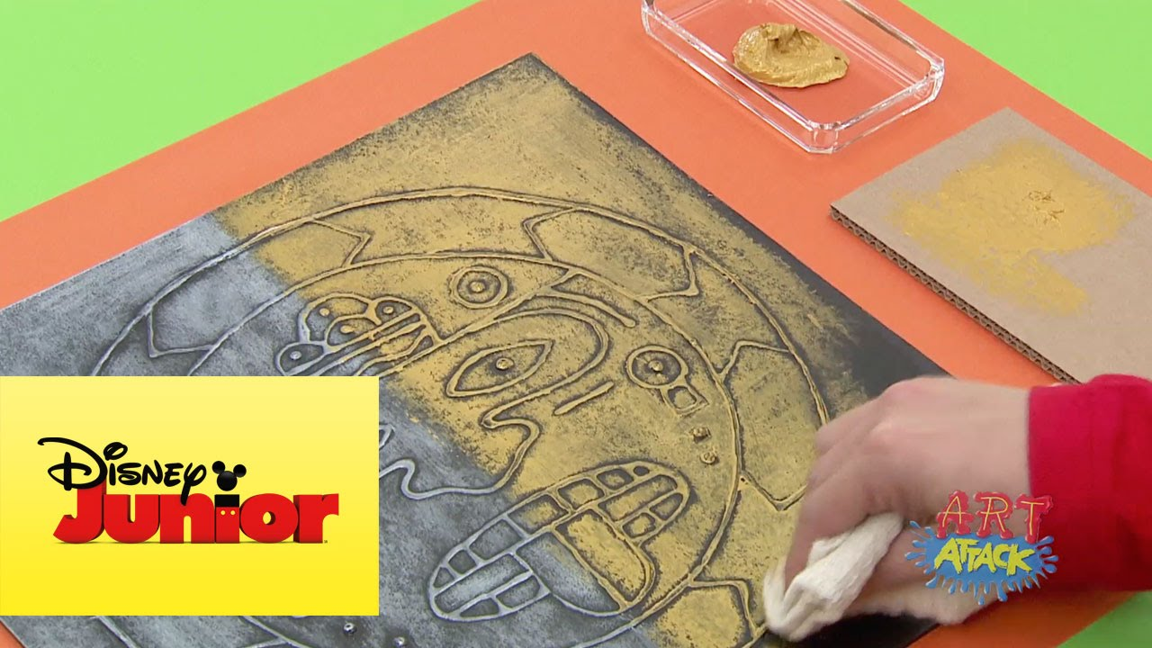 Art attack rostro azteca youtube - Videos de art attack manualidades ...