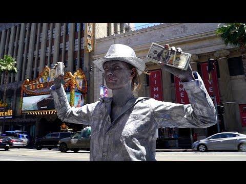 Street Performer | Hannah Stocking & Lele Pons