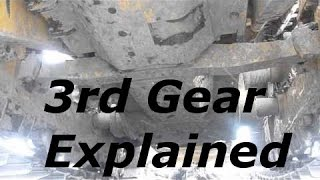 3rd Gear Explained | Pushy D6T