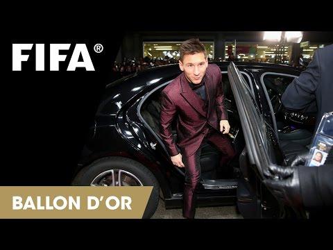 REPLAY: Red Carpet at FIFA Ballon d'Or Gala 2014