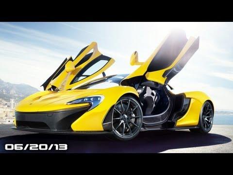 Carbon Fiber McLaren,Bieber Hits Paparazzi, New Escalade, Chrysler Jeep Recall, & New Mazda3!