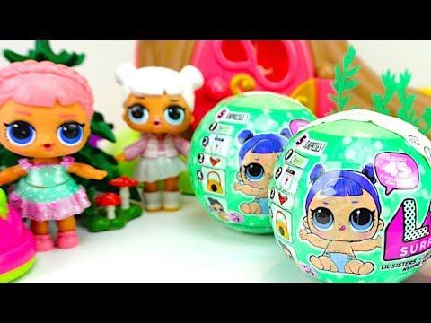 Сюрпризы ЛОЛ распаковываем шары ЛИЛ ищем куколки