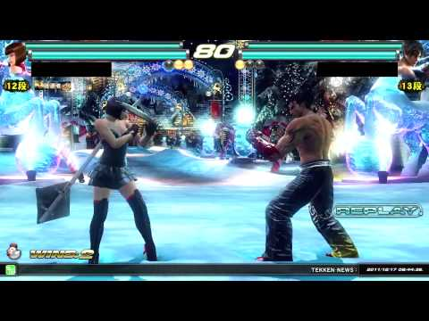 Tekken Tag Tournament 2 | ( Anna \ Lars ) Vs. ( Jin \ Asuka ) HD