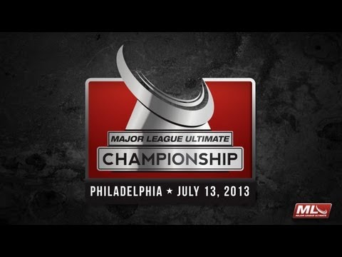 Major League Ultimate 2013 Championship Game