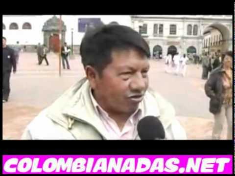 Pastuso dando clases de comportamiento a punta de juete, Colombianadas!