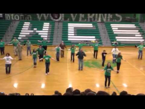 W-C Faculty Flash Mob