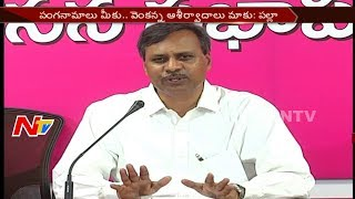 Palla Rajeshwar Reddy Strong Reaction to Oppositions on KCR Survey Report