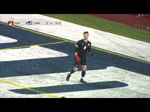 UNH Men's Soccer vs Fairfield Highlights (11-16-17)