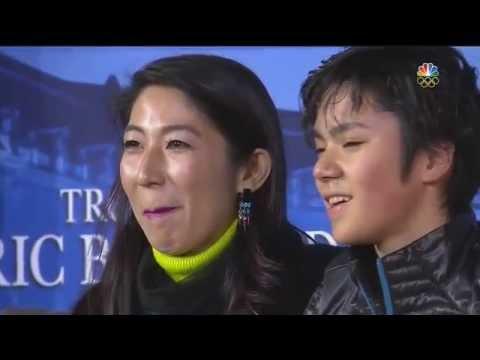 昌磨 2015 フランス杯 SP アメリカNBC ジョニーとタラの解説