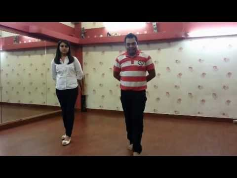 Disco deewane tutorial by abhijeet & payal footworks dance studio...