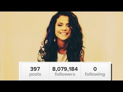 Selena Gomez Unfollows Justin, Taylor, And Everyone! video