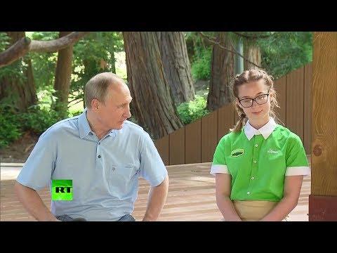 Путин удивился наличию в Артеке детских экскурсий в Массандру
