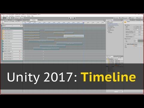 Обзор Timeline в Unity 2017.1 + гайд с вариантами использования