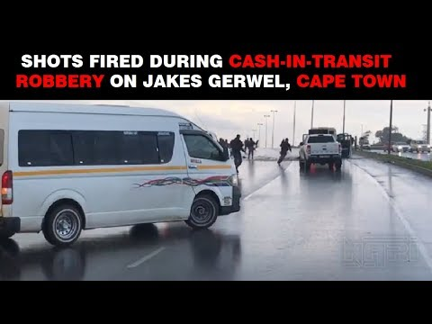 Shots Fired in Cape Town G4S Cash-in-Transit Robbery