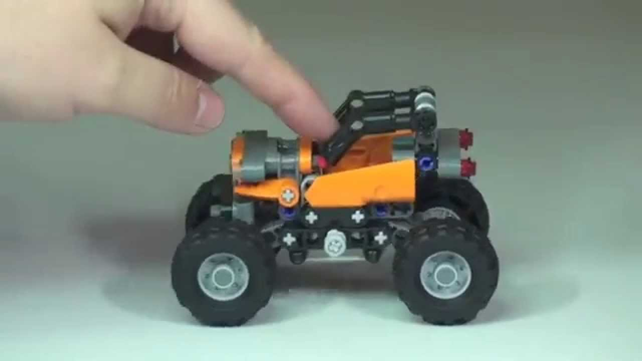 lego technic mini off roader set 42001 review youtube. Black Bedroom Furniture Sets. Home Design Ideas
