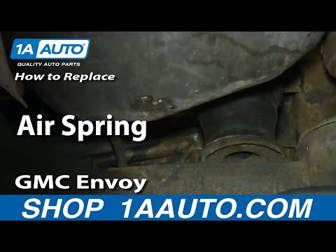 How To Install Replace Rear Air Springs 2002-09 GMC Envoy XL Trailblazer EXT