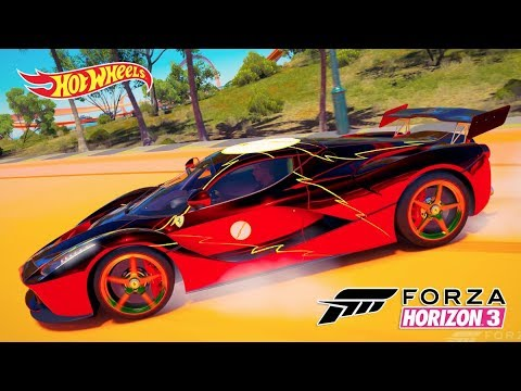 Ferrari LaFerrari The Flash Jogo Forza Horizon 3 Gameplay thumbnail
