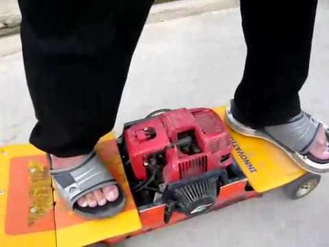 Alien Jump Gas Skateboard INNOVATIONMAN ™