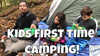 First Time Camping With Kids! Family Camping Tips (& Fishing!)
