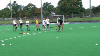 Mark Knowles skills session part 2 at tweed