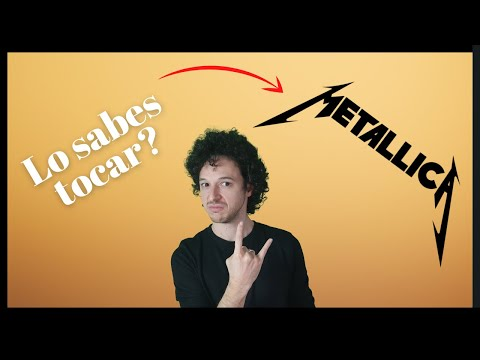 Como Tocar Nothing Else Matters De Metallica - Leccion De Guitarra - Kirk Hammett Introduccion video
