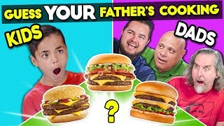 Can Kids Guess Their Father's Cooking?