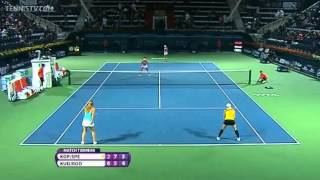 Rodionova/Kudryavtseva vs. Kops-Jones/Spears. WTA Dubai Open 2014 Final Tie-break