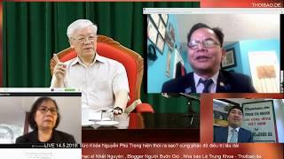 Phát LIVE : Sức Khỏe Nguyễn Phú Trọng thực sự ra sao khi xuất hiện hôm nay?