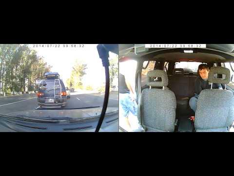 Авария кульжинский тракт 22.07.2014 ( видео 1)