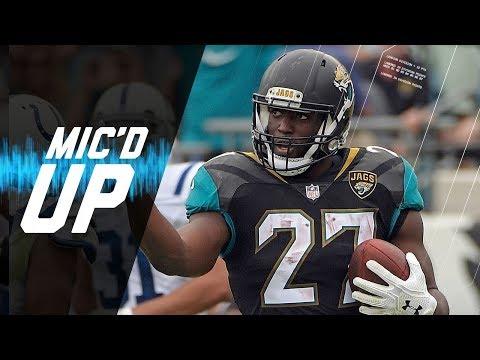 "Leonard Fournette Mic'd Up vs. Colts ""I Got My One-Hand Catch"" | NFL Sound FX"