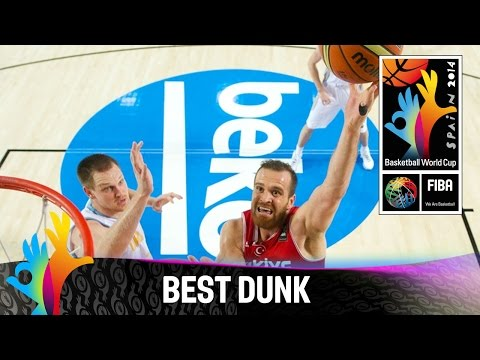 Ukraine v Turkey - Best Dunk - 2014 FIBA Basketball World Cup