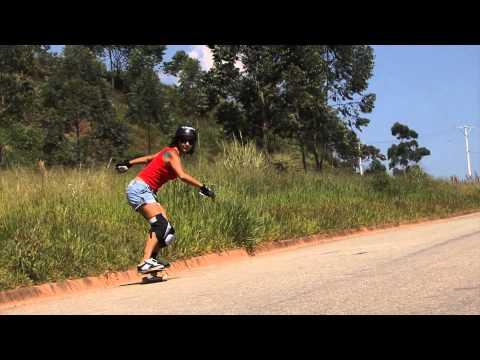 Skate Downhill Brazil - Reine Oliveira & Brunna Separovick