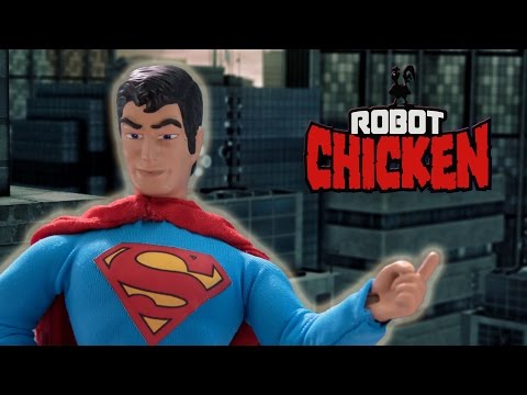 Classic Superman Moments   Robot Chicken   Adult Swim
