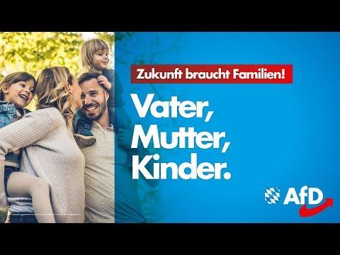 AfD Bayern zur Landtagswahl: Zukunft braucht Familien!
