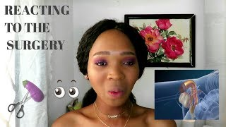 REACTING TO THE GENDER REASSIGNMENT SURGERY |SOUTH AFRICAN TRANSGENDER YOUTUBER|ASIVE MVIMBI
